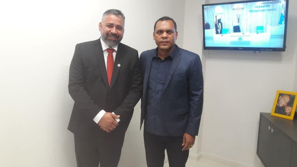 Vice-prefeito Wanderson Dias participa da inauguração da nova sede da Câmara dos Vereadores de Itaboraí