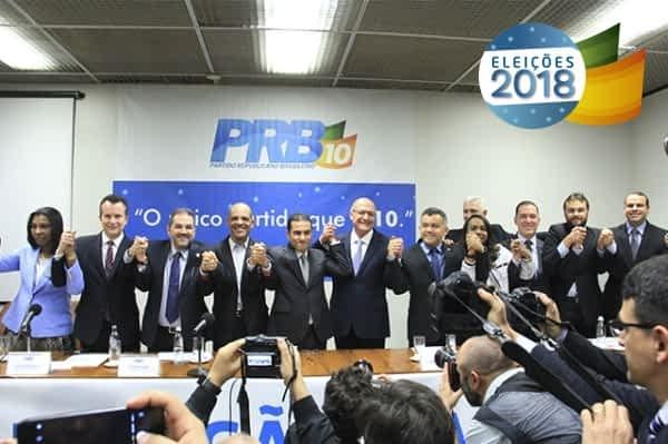 Anúncio oficial aconteceu durante a XII Convenção Nacional do PRB, em Brasília