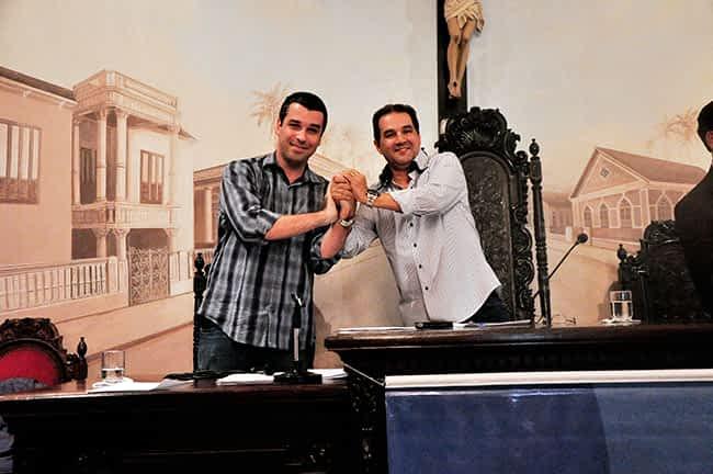 Lopes confirmou a pré-candidatura do vereador Igor Sardinha à Prefeitura macaense.